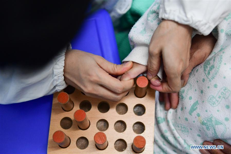 18 orphans with disability treated in Changsha, China's Hunan