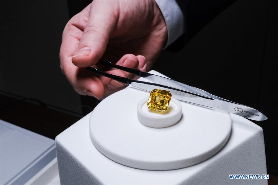 Media preview organized by Russian diamond producer held in Moscow