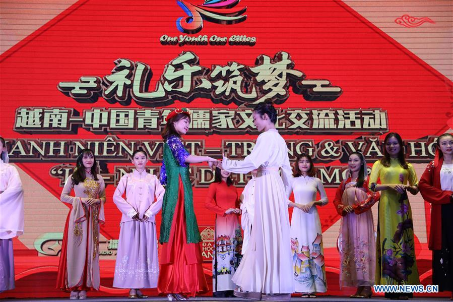 Cultural exchange activity between Chinese and Vietnamese youths kicks off in Hanoi
