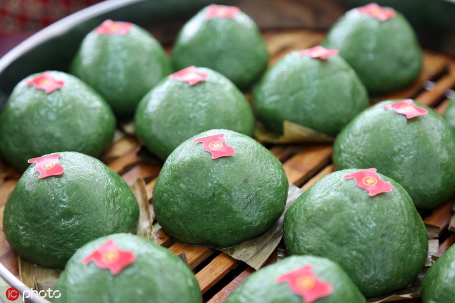 Seven foods for Qingming Festival