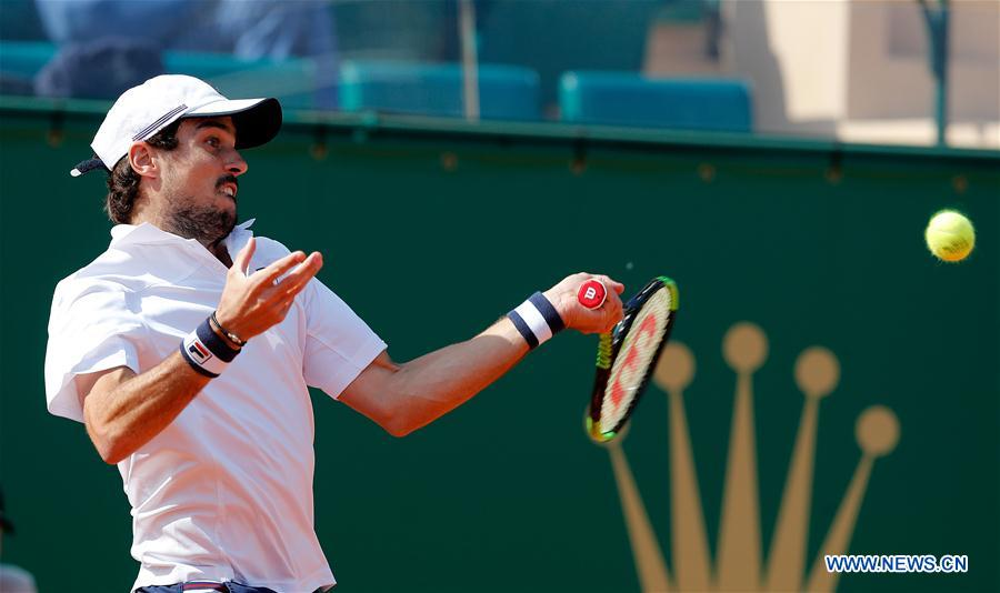 Highlights of men's singles quarterfinals at Monte-Carlo Rolex Masters tennis tournament