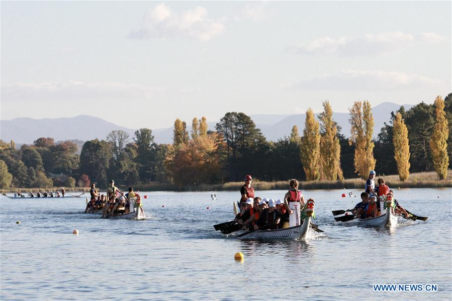 22nd annual Australian Dragon Boat Championships held in Canberra