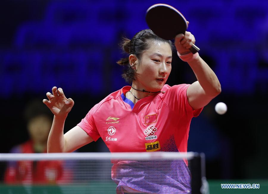 Highlights of women's singles matches at 2019 ITTF World Table Tennis Championships