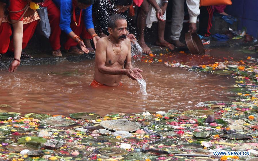 Mata Tirtha Aunsi observed in Nepal to show respect to mothers