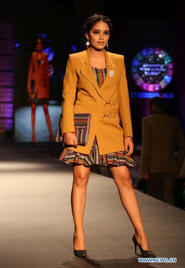 "Fashion show ""Fashion from Home 2019 "" held in Kathmandu, Nepal"