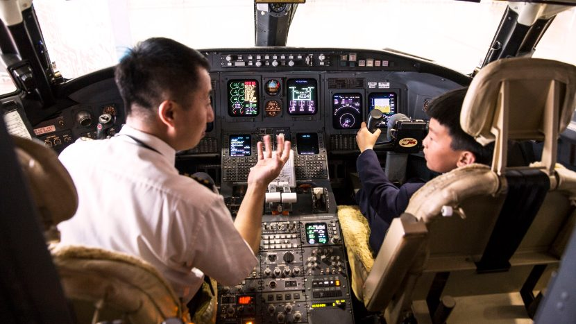 Chinese orphans' aviation dreams take off