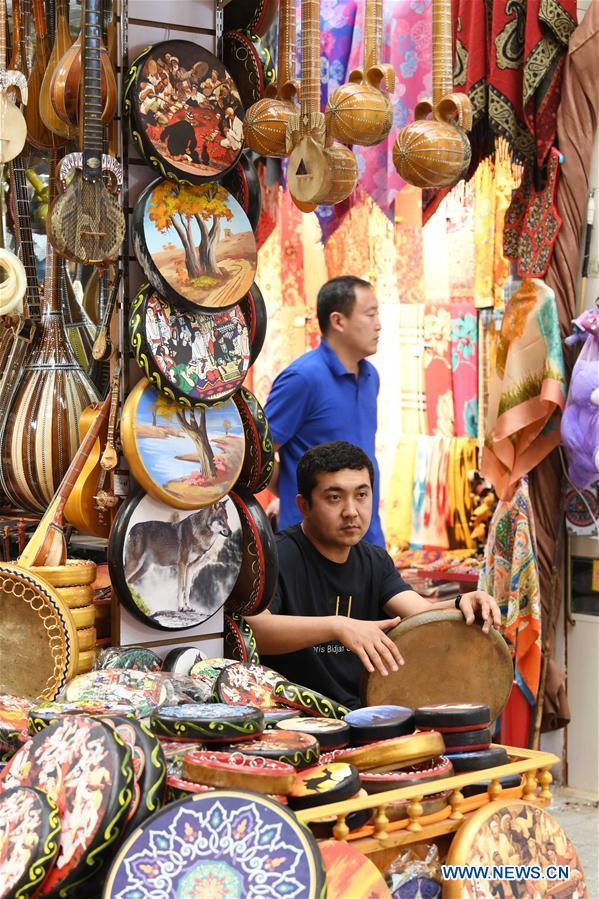 Xinjiang International Grand Bazaar in Urumqi