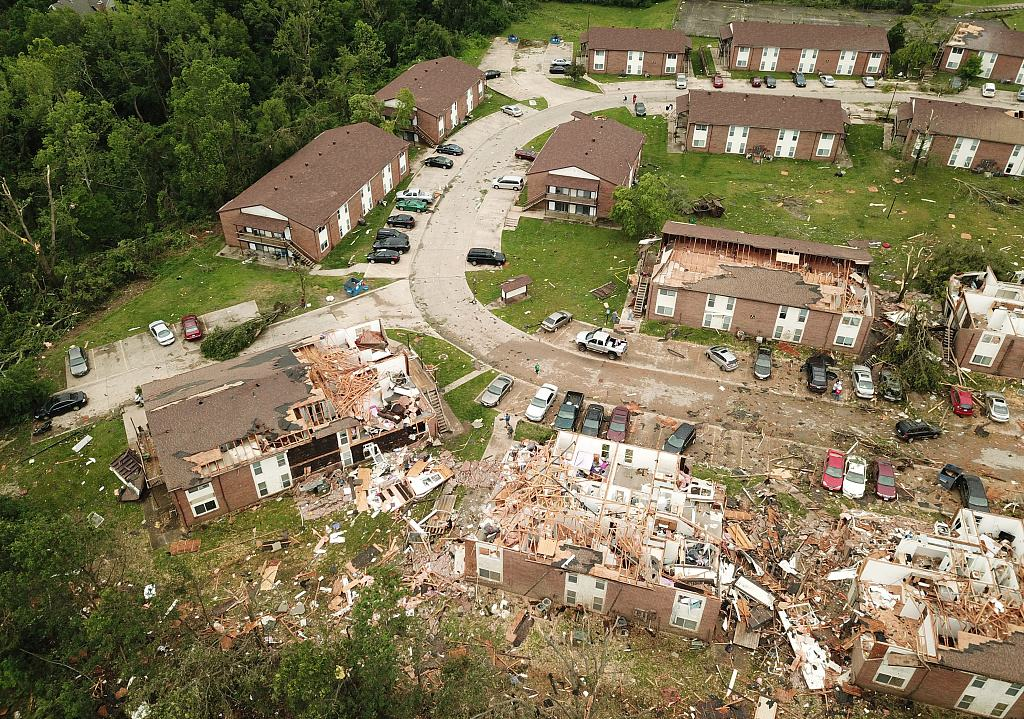 Destructive tornado leaves severe damage in Missouri