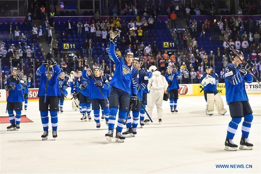 Finland beats Sweden 5-4 at 2019 IIHF Ice Hockey World Championship