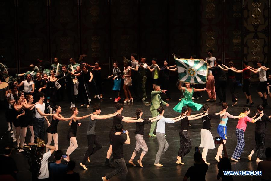 National Ballet of China on performance tour in Brazil