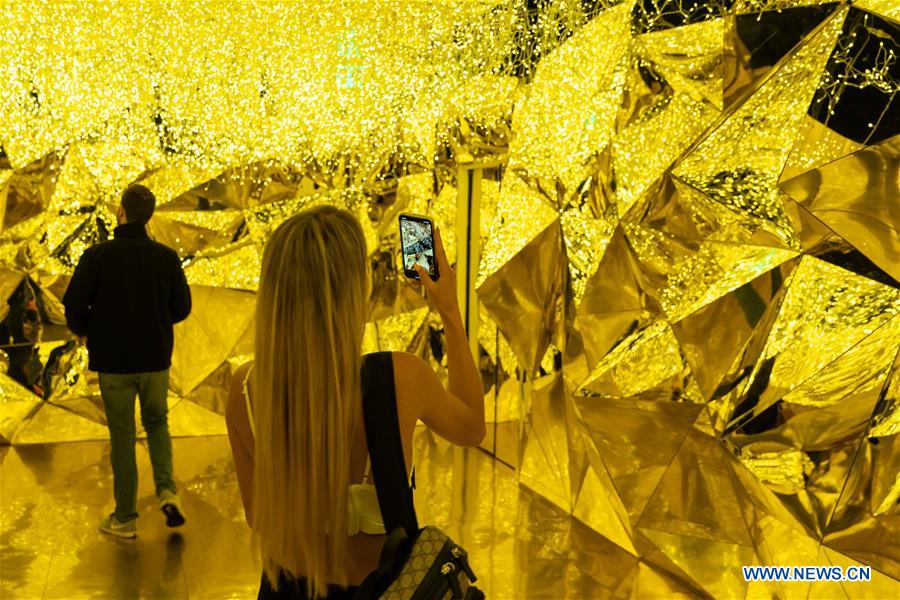 Visitors tour Museum of Dream Space in Los Angeles