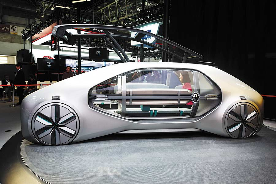 Self-driving technology makes progress in auto industry