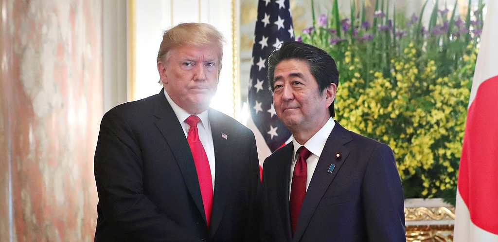 Trump and Abe meeting ongoing in Tokyo