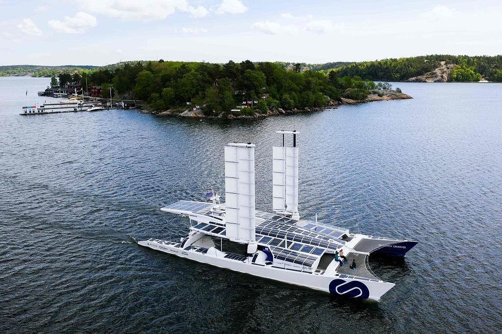World's first hydrogen vessel arrived at Stockholm on global voyage