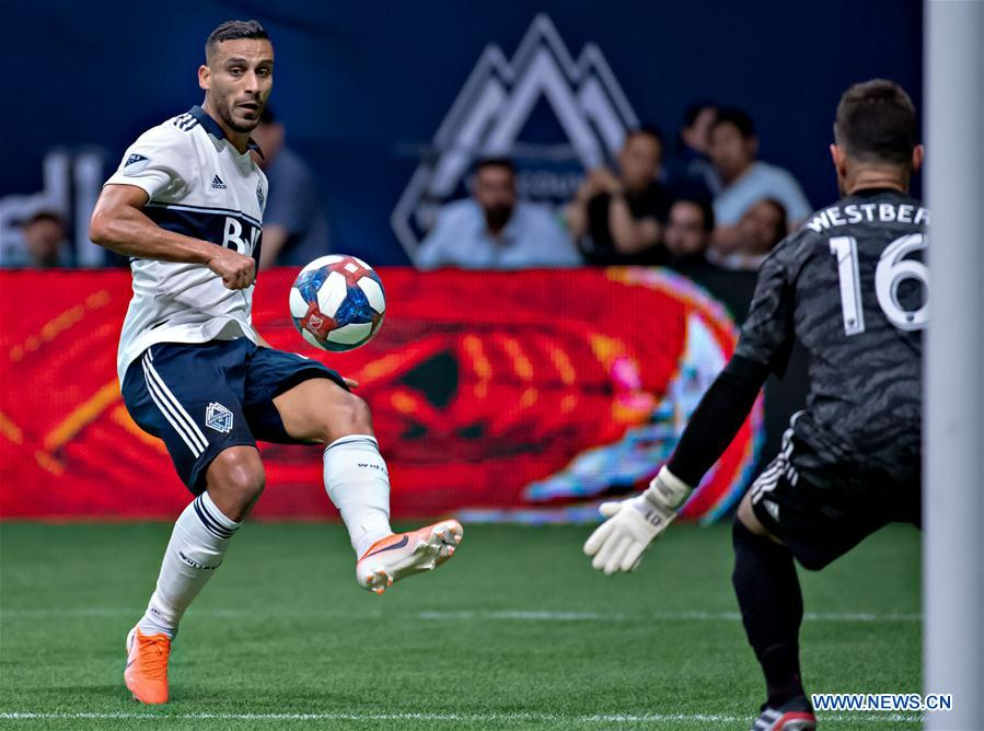 Vancouver Whitecaps FC draw with Toronto FC 1-1 in MLS soccer match