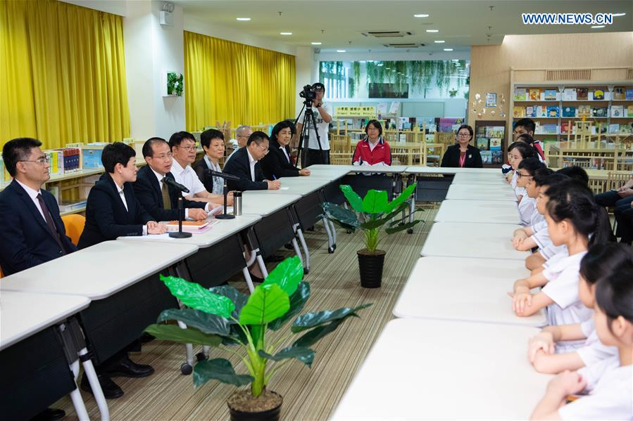 Pupils from Macao receive Xi Jinping's letter