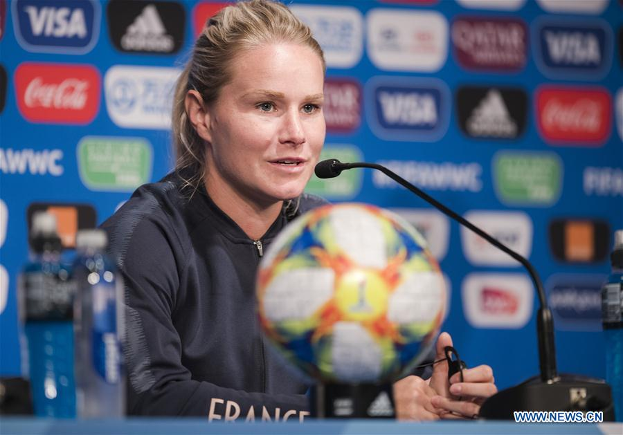 Press conference of 2019 FIFA Women's World Cup held in Paris