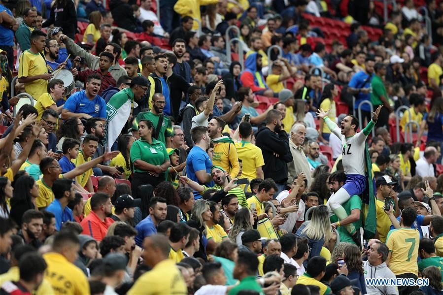 Brazil beats Qatar in international friendly match
