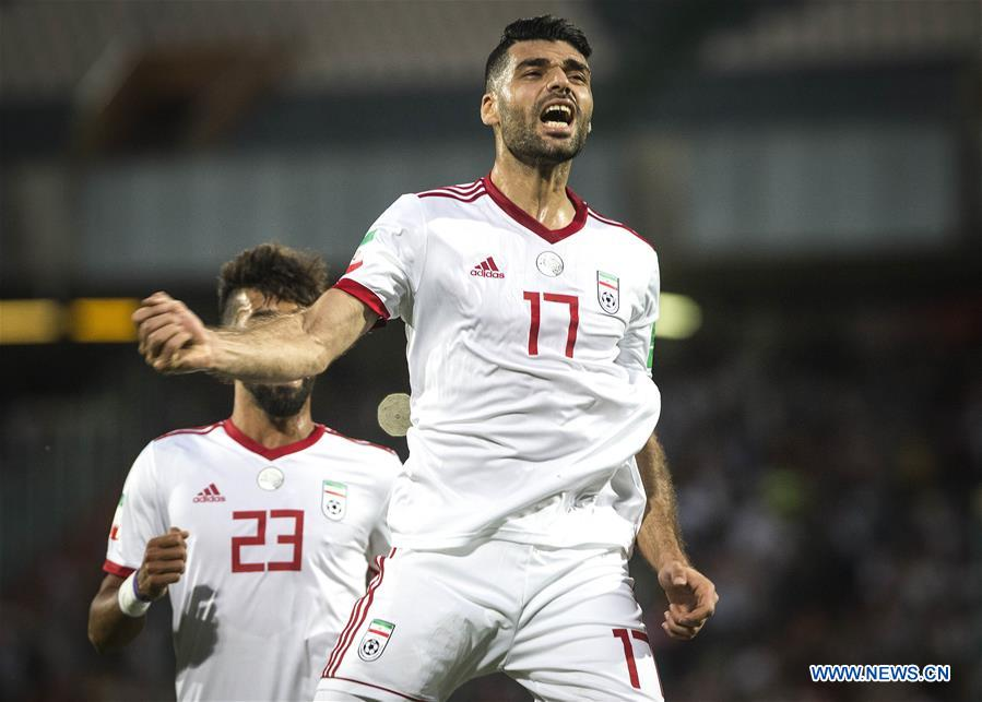 Iran sweeps Syria 5-0 during friendly football match