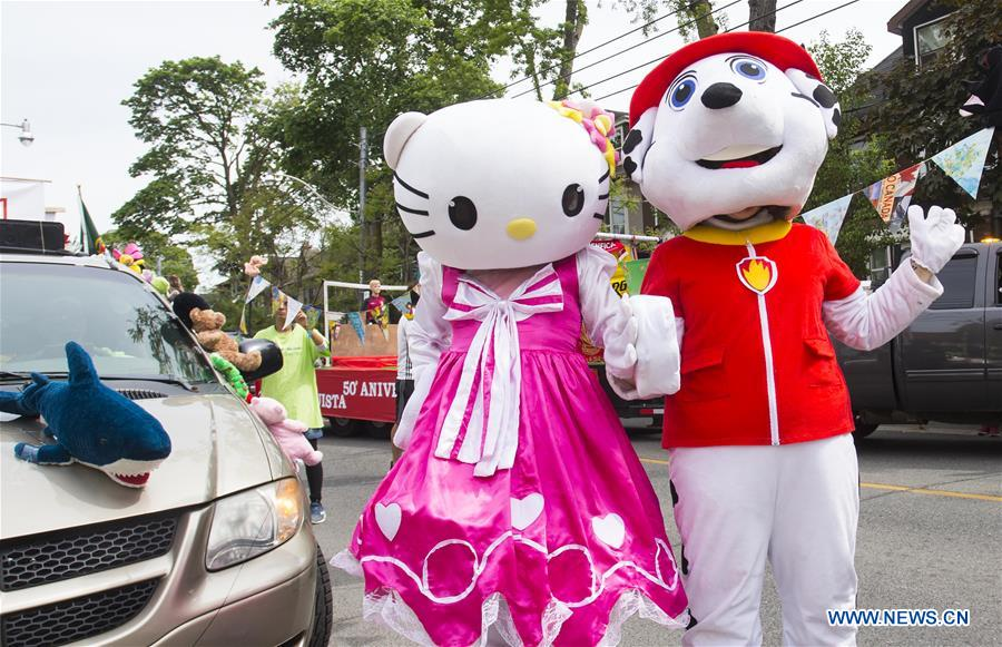 2019 Portugal Day Parade held in Toronto, Canada