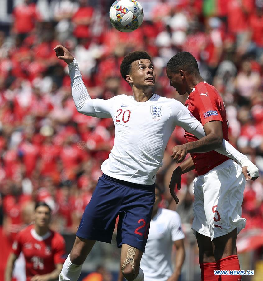 In pics: UEFA Nations League Third-place match between Switzerland and England