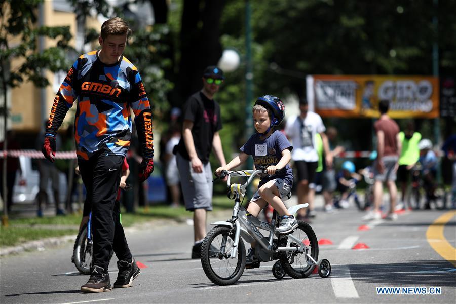 Bicycle race held in Sarajevo, BiH