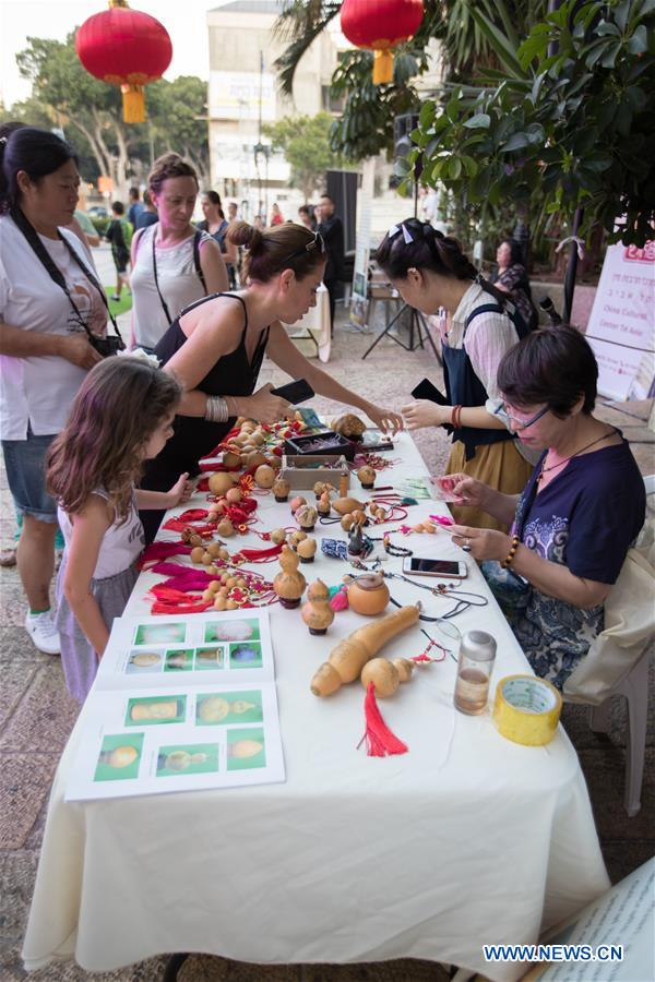 People experience China's Gansu culture in Israel