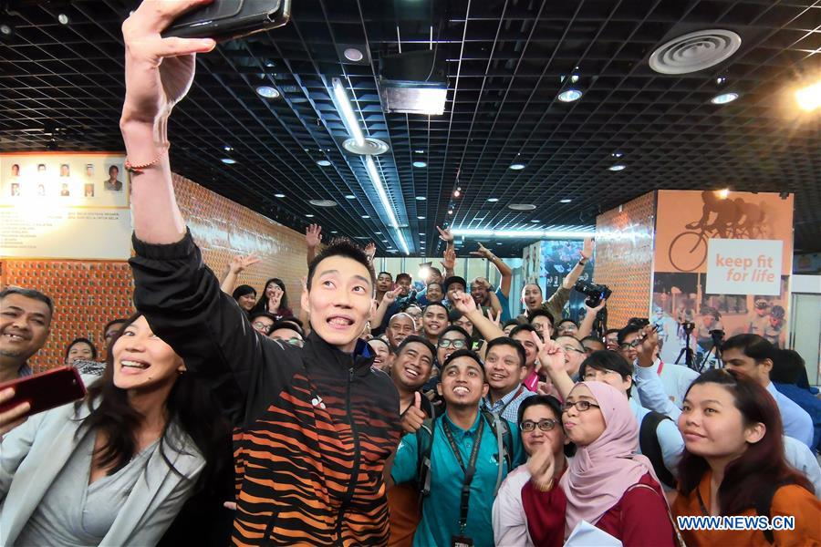 Malaysia's badminton player Lee Chong Wei announces retirement