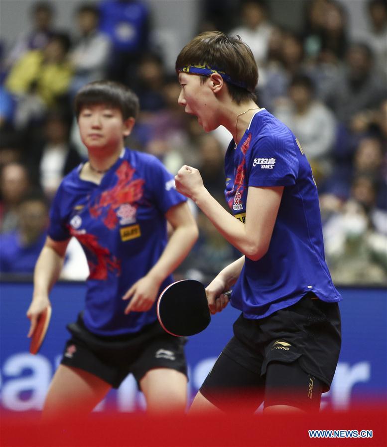 In pics: ITTF World Tour Platinum Japan Open