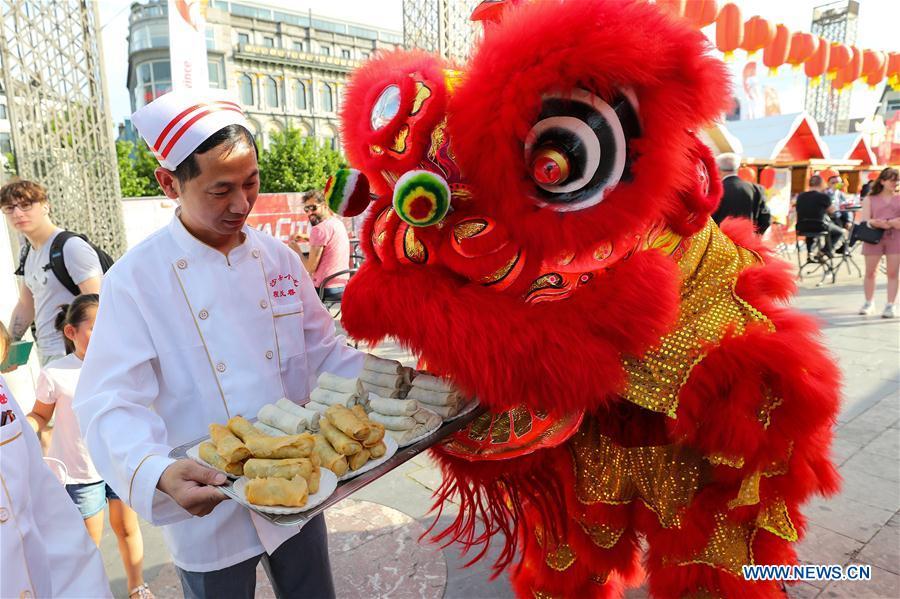 4th Chinatown Fair held in Liege, Belgium
