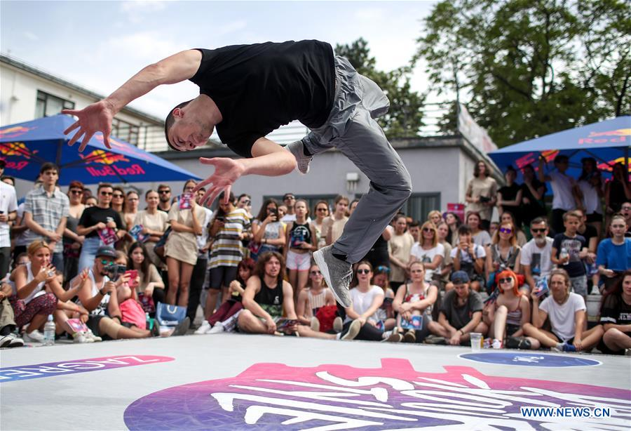 Regional final competition of Red Bull Dance Your Style Zagreb 2019 held in Croatia