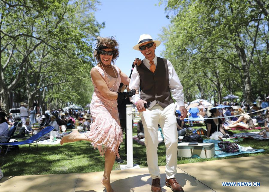 14th annual Jazz Age Lawn Party on Governors Island of New York