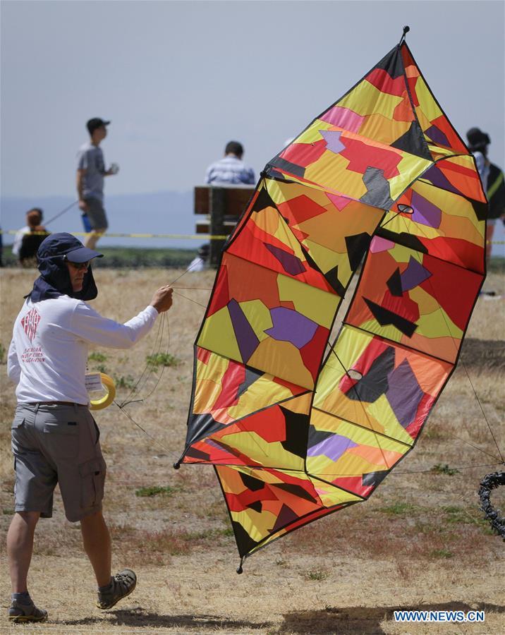 44th Pacific Rim Kite Festival held in Richmond, Canada