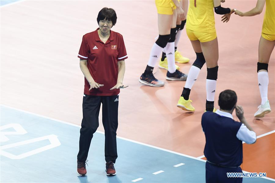 FIVB Volleyball Nations League 2019: China vs. Bulgaria