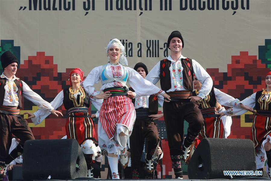 13th Int'l Folklore Festival 'Music and Traditions' concludes in Romania