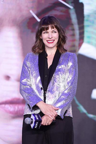 Milla Jovovich set to light up screens on the mainland