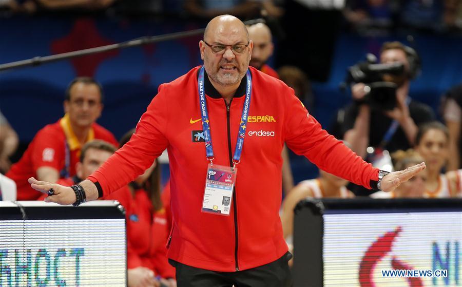 Spain beats Serbia 71-66 at Women's FIBA EuroBasket semifinal