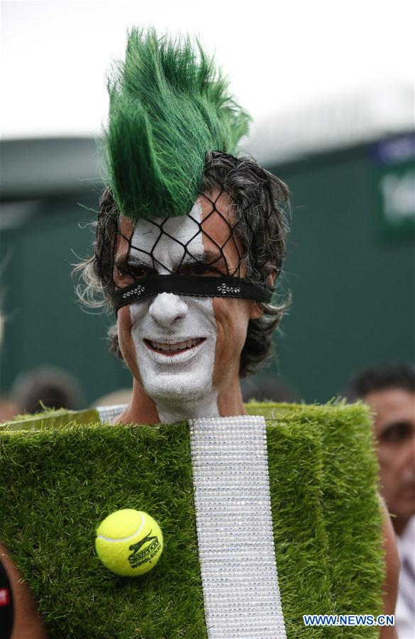 8th day of 2019 Wimbledon Tennis Championships in London