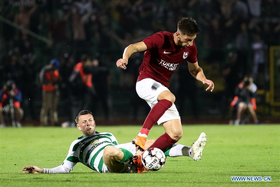 UEFA Champions League: Sarajevo vs. Celtic