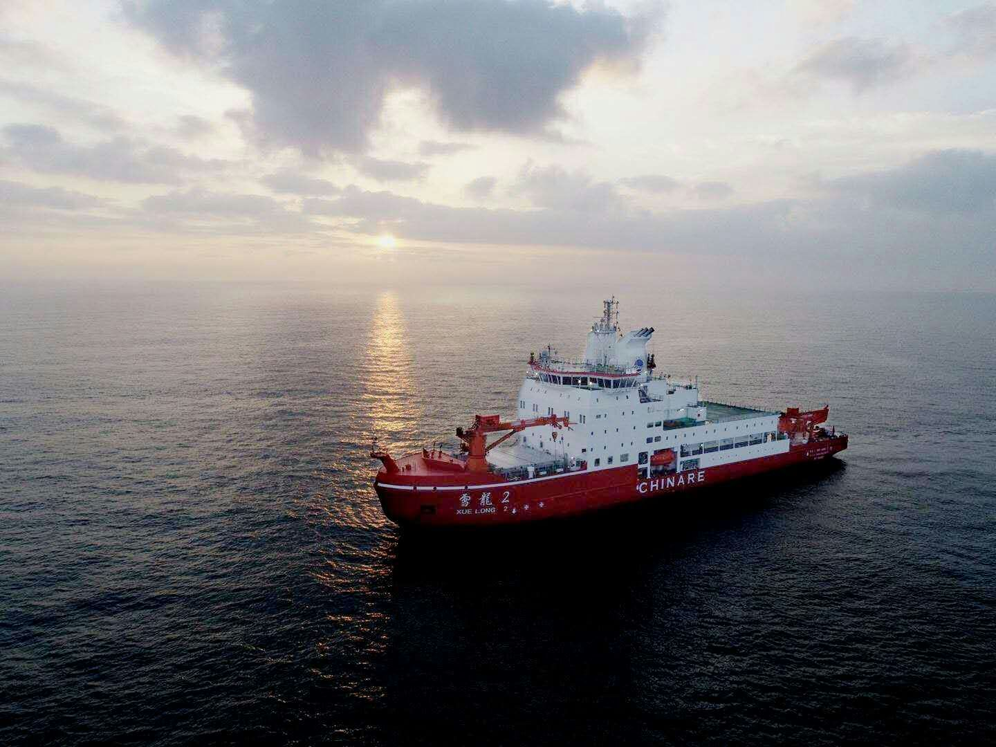 Icebreaker Xuelong 2 joins service on China national maritime day