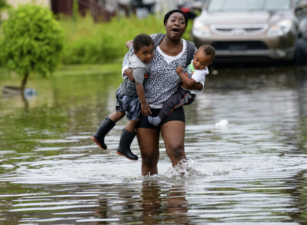 Flooded New Orleans braces for Tropical Storm Barry