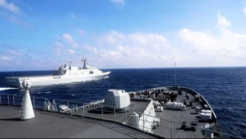 China holds military-civilian cross-sea transport drills in Yellow Sea