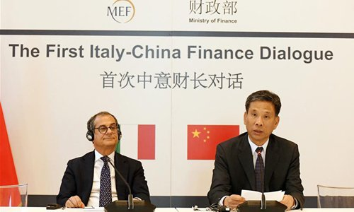 Italy, China pledge to deepen cooperation, support multilateralism