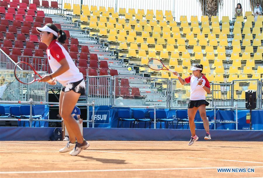 Summer Universiade: Guo Hanyu/Ye Qiuyu advance to tennis women's doubles final