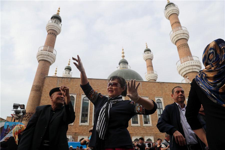 West viewing Xinjiang through prism of bias