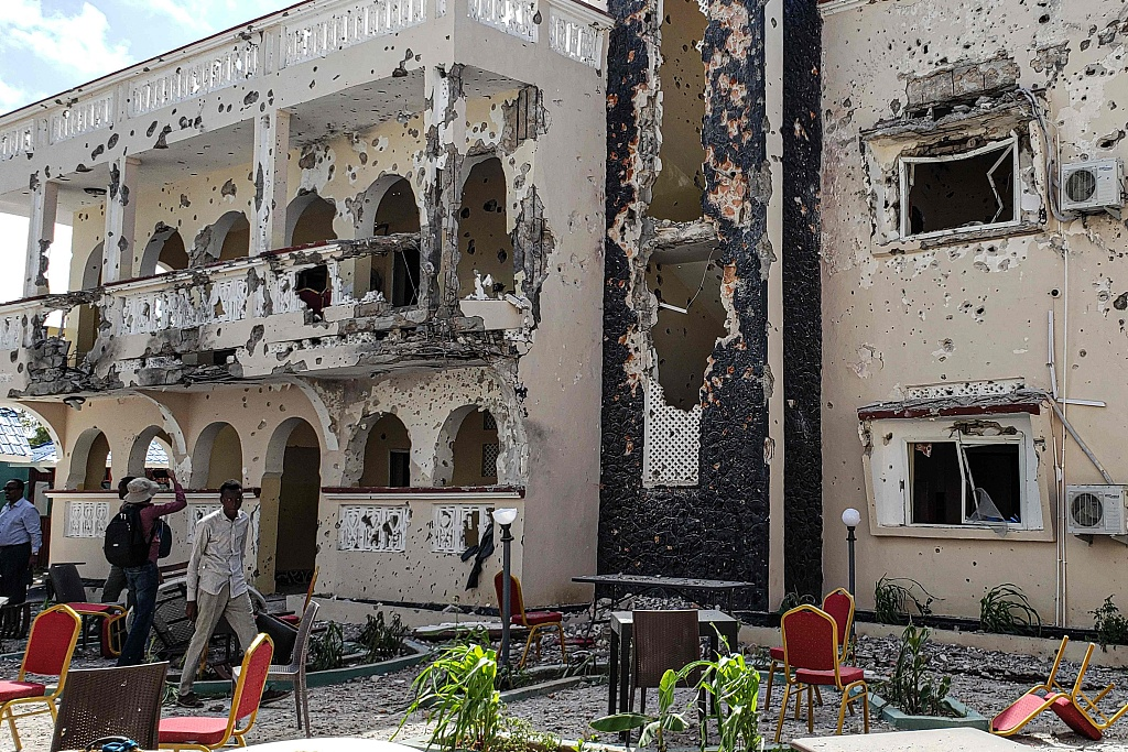 Two Chinese among injured in southern Somalia terror attack