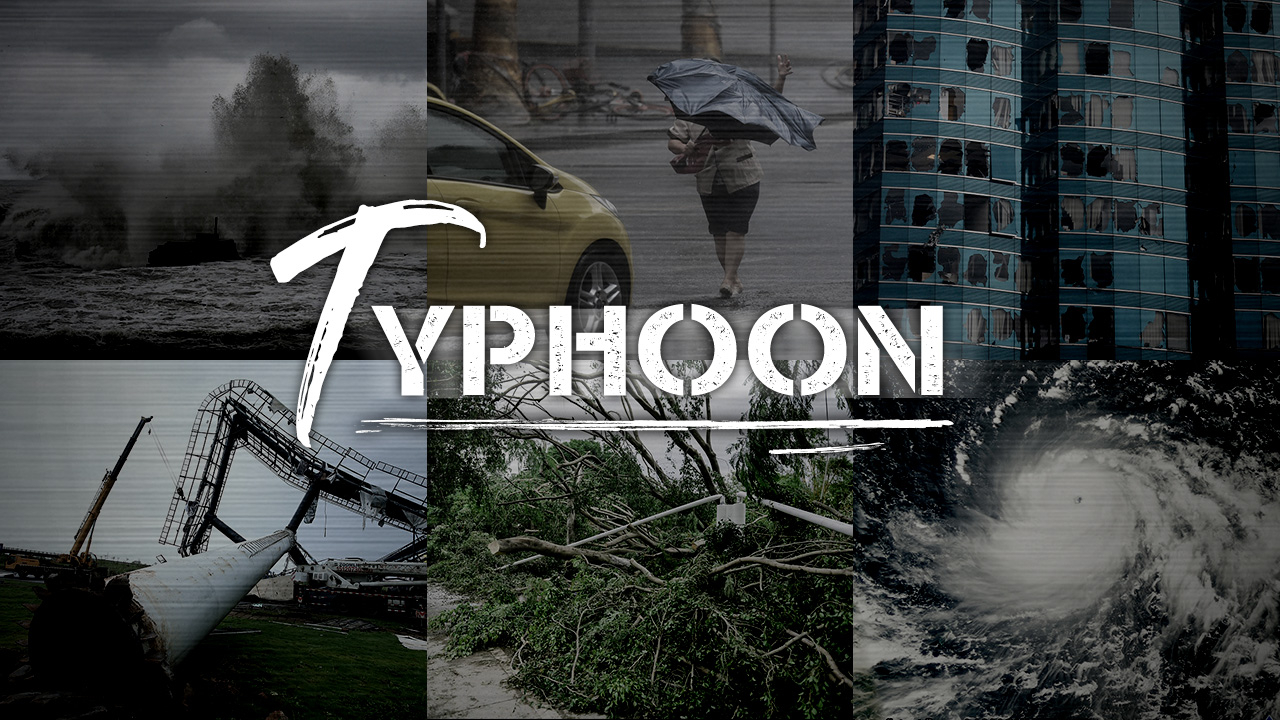Graphics: Typhoons in China over past 70 years