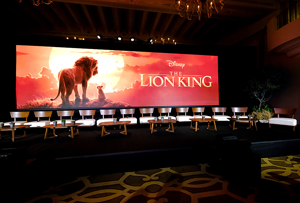 New 'Lion King' continues leading Chinese mainland box office