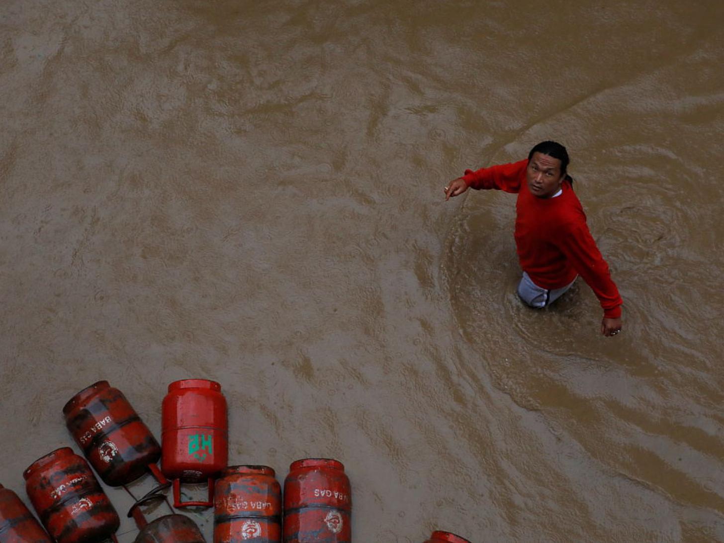 At least 32 dead as heavy rainfalls hit Nepal