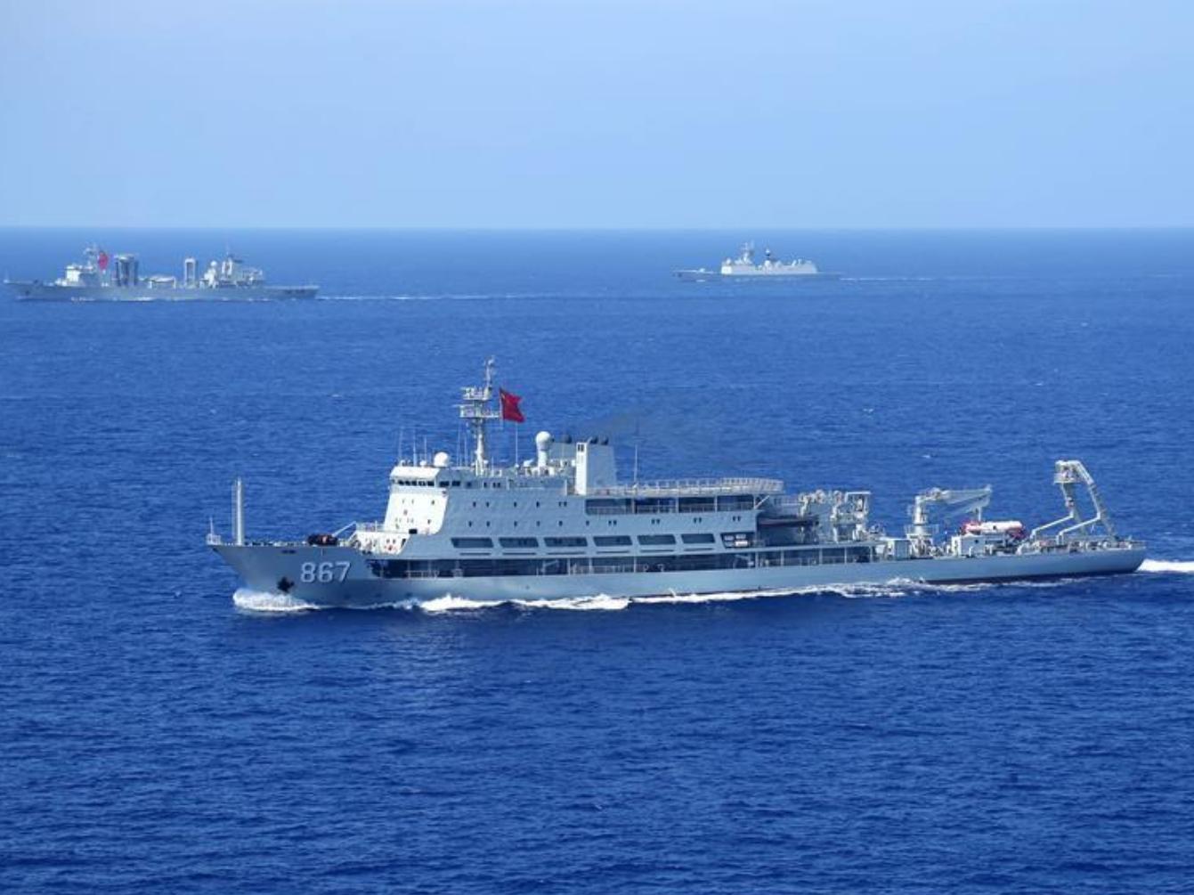 Military drill held off China's SE coast